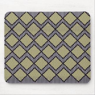 Tiras y zigzags tapetes de ratón