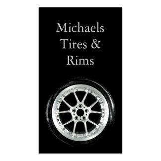 Tire and Rims Business Card Templates