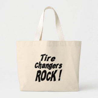 Tire Changers Rock! Tote Bag
