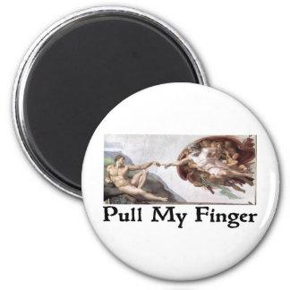 Tire de mi dedo iman