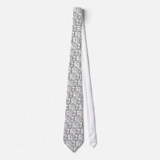 Tire del lazo, reciba el tocino corbata