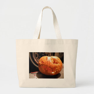 Tire Gourd II Large Tote Bag