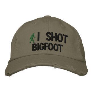 Tiré la versión de lujo de Bigfoot Gorra De Beisbol Bordada