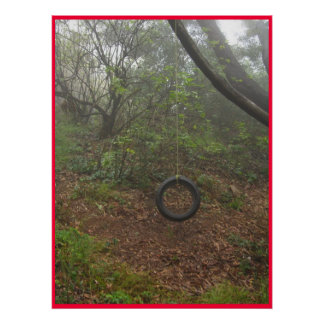 Tire Rope Swing Posters