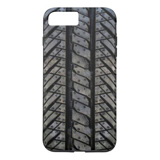 Tire Rubber Automotive Texture Decor iPhone 8 Plus/7 Plus Case