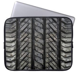 Tire Rubber Automotive Texture Decor Computer Sleeve