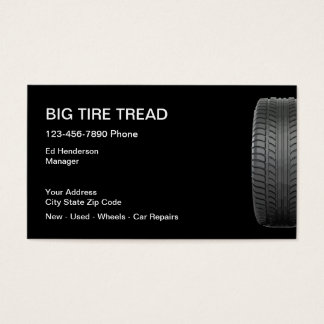Tire Store Business Cards
