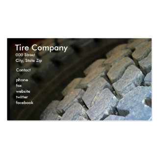Tire Surface Double-Sided Standard Business Cards (Pack Of 100)