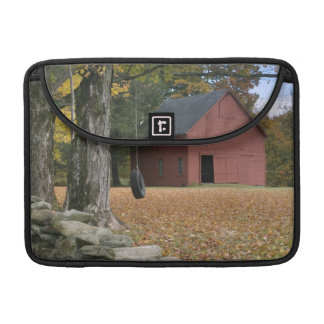 Tire swing along a road in Southern Vermont, MacBook Pro Sleeve