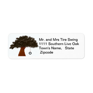 Tire Swing Label