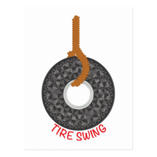 Tire Swing Postcard
