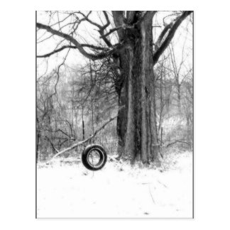 tire swing post card