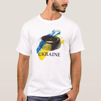 Tire – symbol of Ukrainian Revolution of Dignity T-Shirt