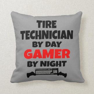 Tire Technician Gamer Pillow