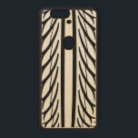 """Tire Texture Abstract Pattern in Black and White Wood Nexus 6P Case<br><div class=""""desc"""">.</div>"""