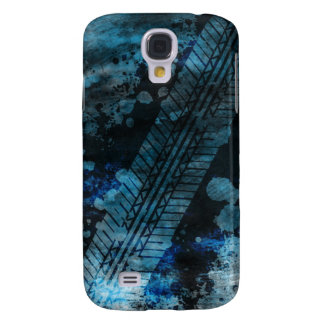 Tire Track Grunge iPhone 3G Case (blue)