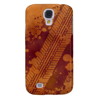 Tire Track Grunge iPhone 3G Case (pumpkin)