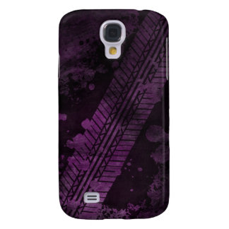 Tire Track Grunge iPhone 3G Case (purple)