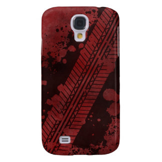 Tire Track Grunge iPhone 3G Case (red)