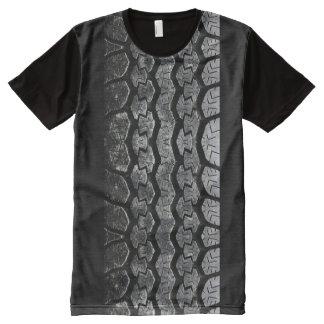 Tire Tread All-Over-Print T-Shirt