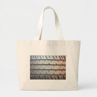 Tire Tread Tote Bags