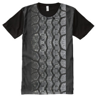 Tire Tread All-Over Print T-shirt