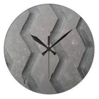 Tire Tread Large Clock