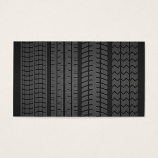 tire tread patterns business cards