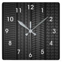 tire tread patterns clock