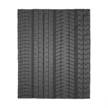 tire tread patterns fleece blanket