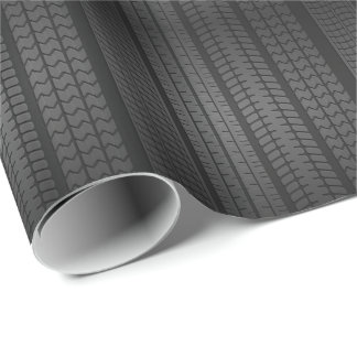 Tire Wrapping Paper | Zazzle