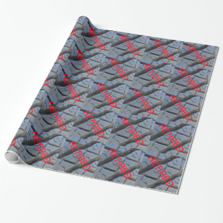 Tire Tread Retirement Wrapping Paper