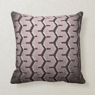 Tire Tread Throw Pillow