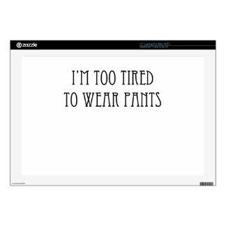 """tired 17"""" laptop skins"""