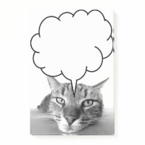 Tired cat post-it notes