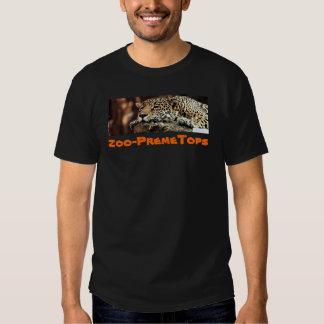 tired cheetah t shirt