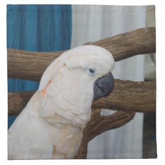 Tired Cockatoo Napkin