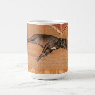 """Tired Dog."" Coffee Mug"