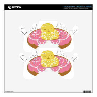 Tired Donut Bird Skin For PS3 Controller