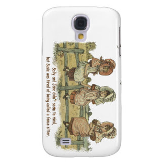 tired of being called a fence sitter samsung galaxy s4 cover