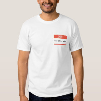 Tired of Being Labeled T Shirt