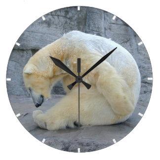 Tired Polar Bear Clocks