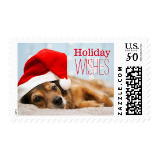 Tired Santa Postage