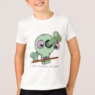 Tired Teacher Funny Skull Customizable T-Shirt