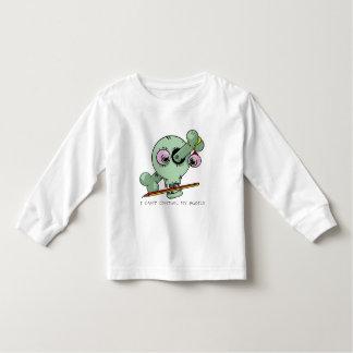 Tired Teacher Funny Skull Customizable Toddler T-shirt