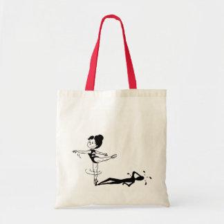 Tireless Ballerina Tote Bag