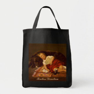 Tireless Devotion - Grocery Tote #1