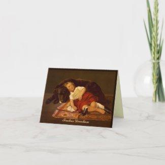 Tireless Devotion - Note Card card