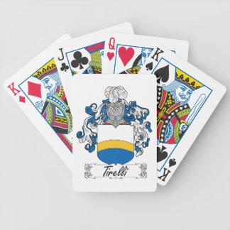 Tirelli Family Crest Poker Cards