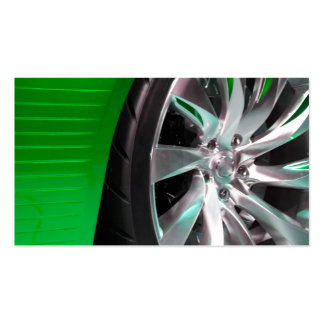 Tires and Rims Business Card Template